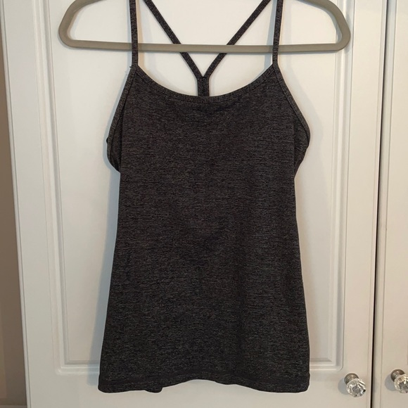 Excellent condition Lululemon Power Y Tank.